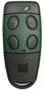 telecommande portail CARDIN S449-QZ4-GREEN